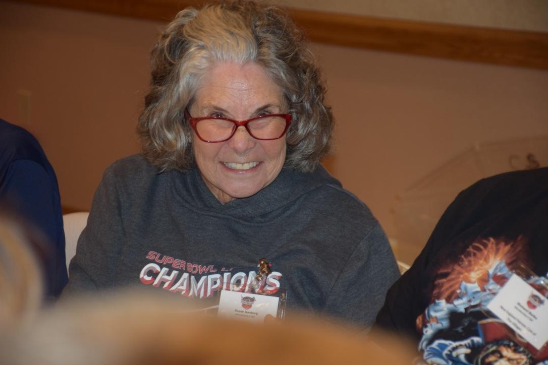 Sue Isenberg - 1st Bingo Winner