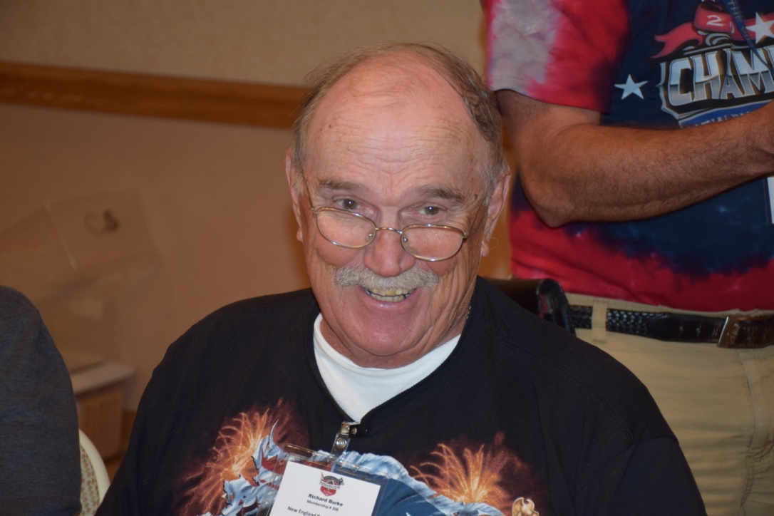 Richard Burke - 3 Line Bingo Winner