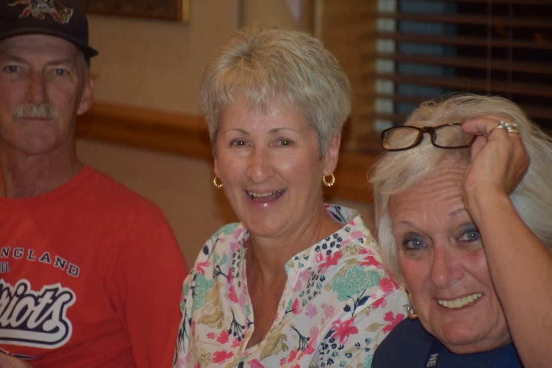 Donna Philbrook - K Game Winner & Co-winner Paul Power (not pictured)